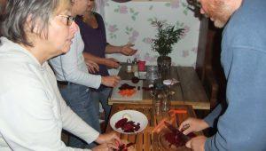 Transitie café: groente en fruit proeverij en inmaken