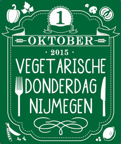 Manifestatie Vegetarische Donderdag Nijmegen