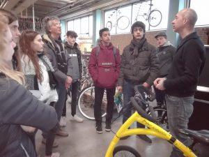 Bezoek Paolo Paliaga en zijn 8 scholieren aan duurzaam Nijmegen op 15 en 16 maart 2018